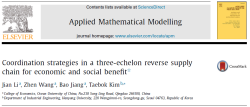 مقاله ترجمه شده استراتژی های هماهنگی در یک زنجیره تامین معکوس سه سطحی برای سود اقتصادی و اجتماعی